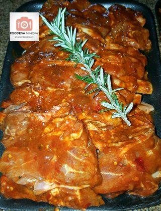 Lamb Chops in Marinade