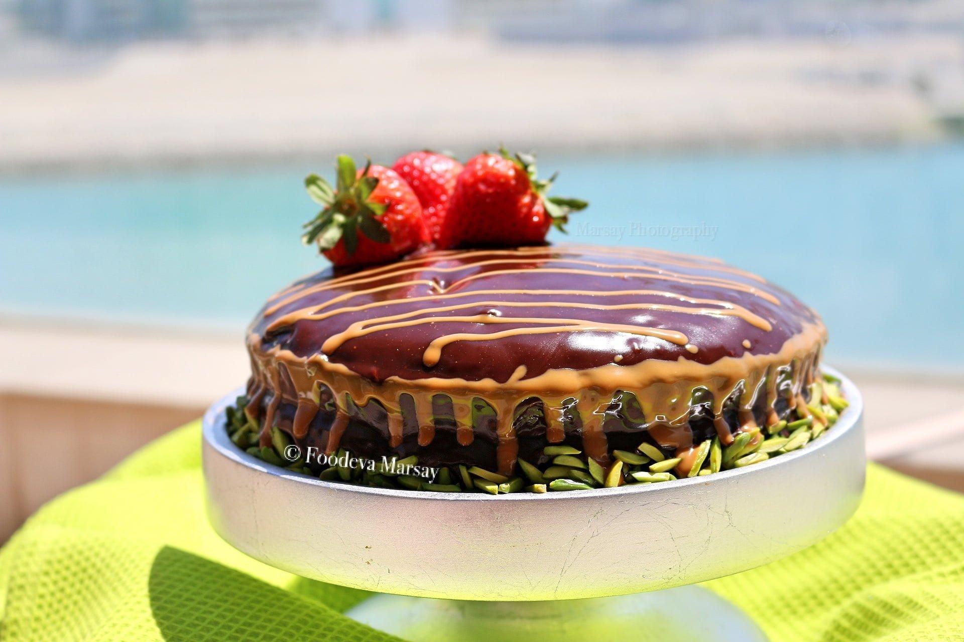 Fudgy Choc Cake1