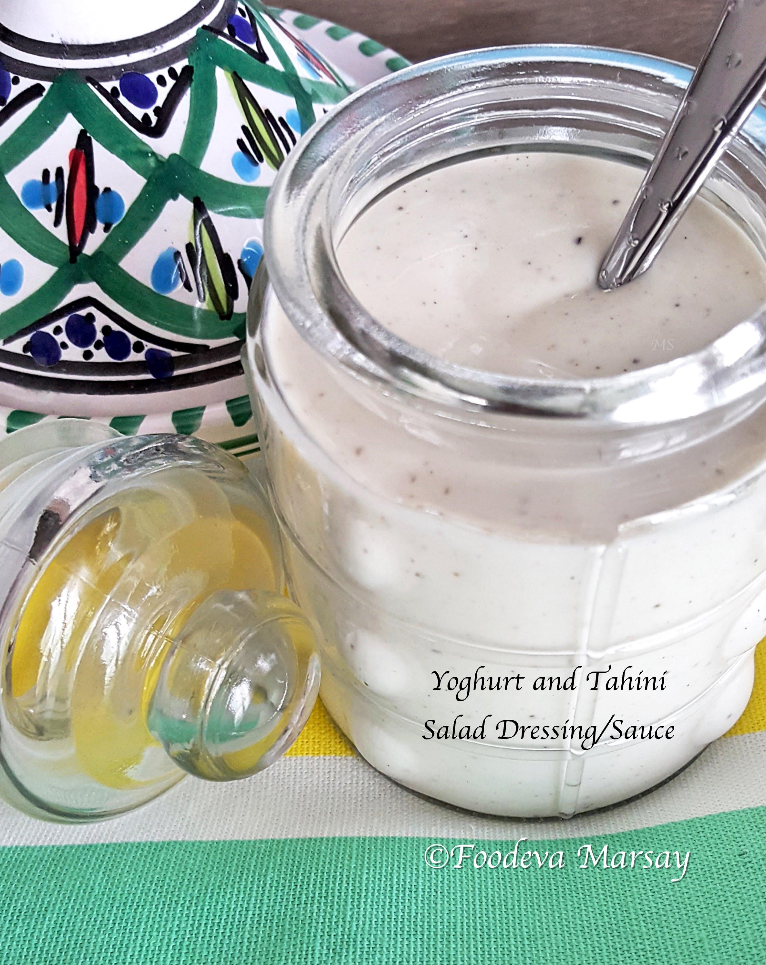MY RECENT FAV? Yoghurt and Tahini Dressing/Sauce
