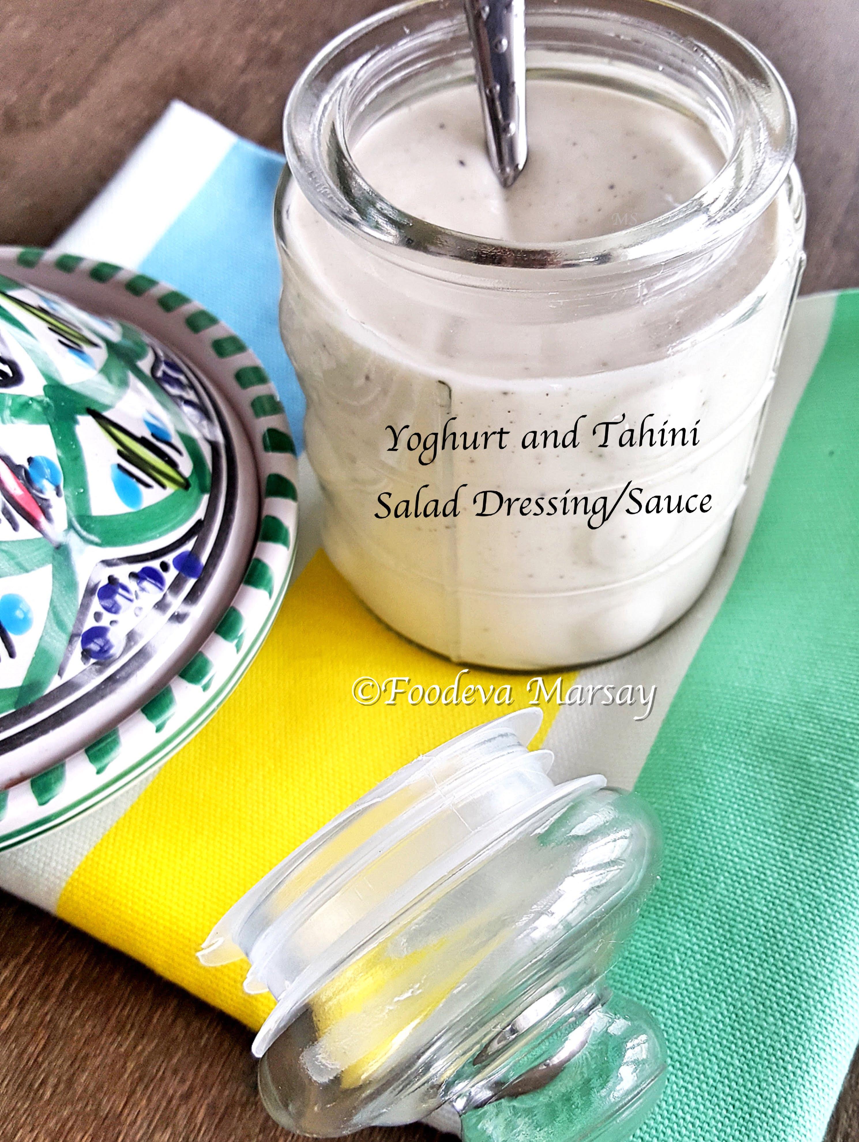Yoghurt and Tahini Dressing/Sauce