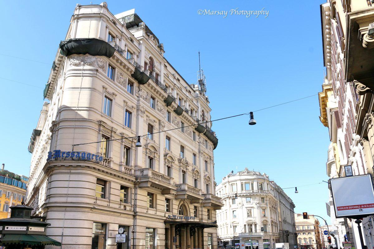 The il-Messaggero Building in Rome
