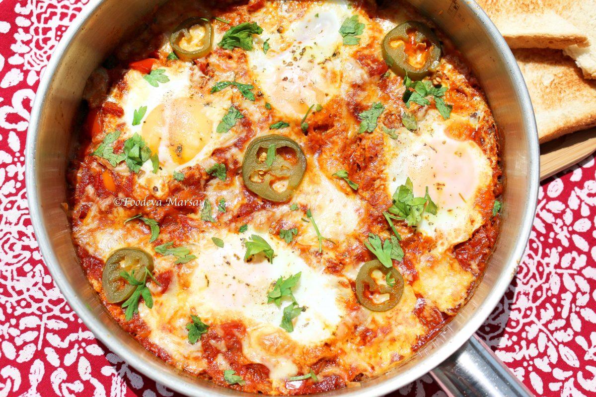 Shashouka (aka Egg Chutney)