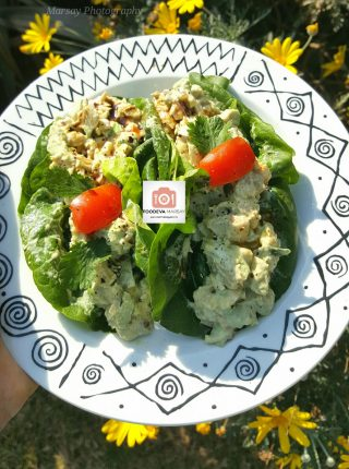 Chicken Guacamole Lettuce Cups