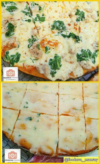Pizza at Luna Blu