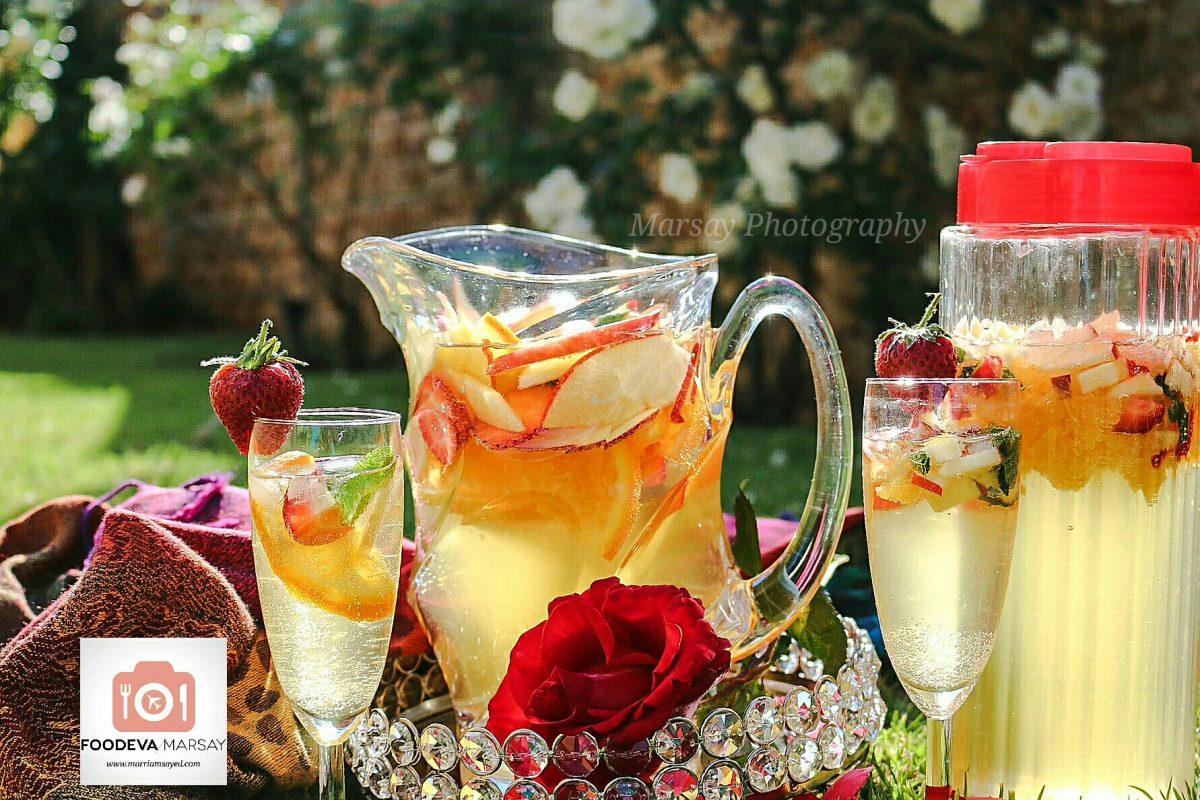 Perfectly Chilled Saudi Champagne