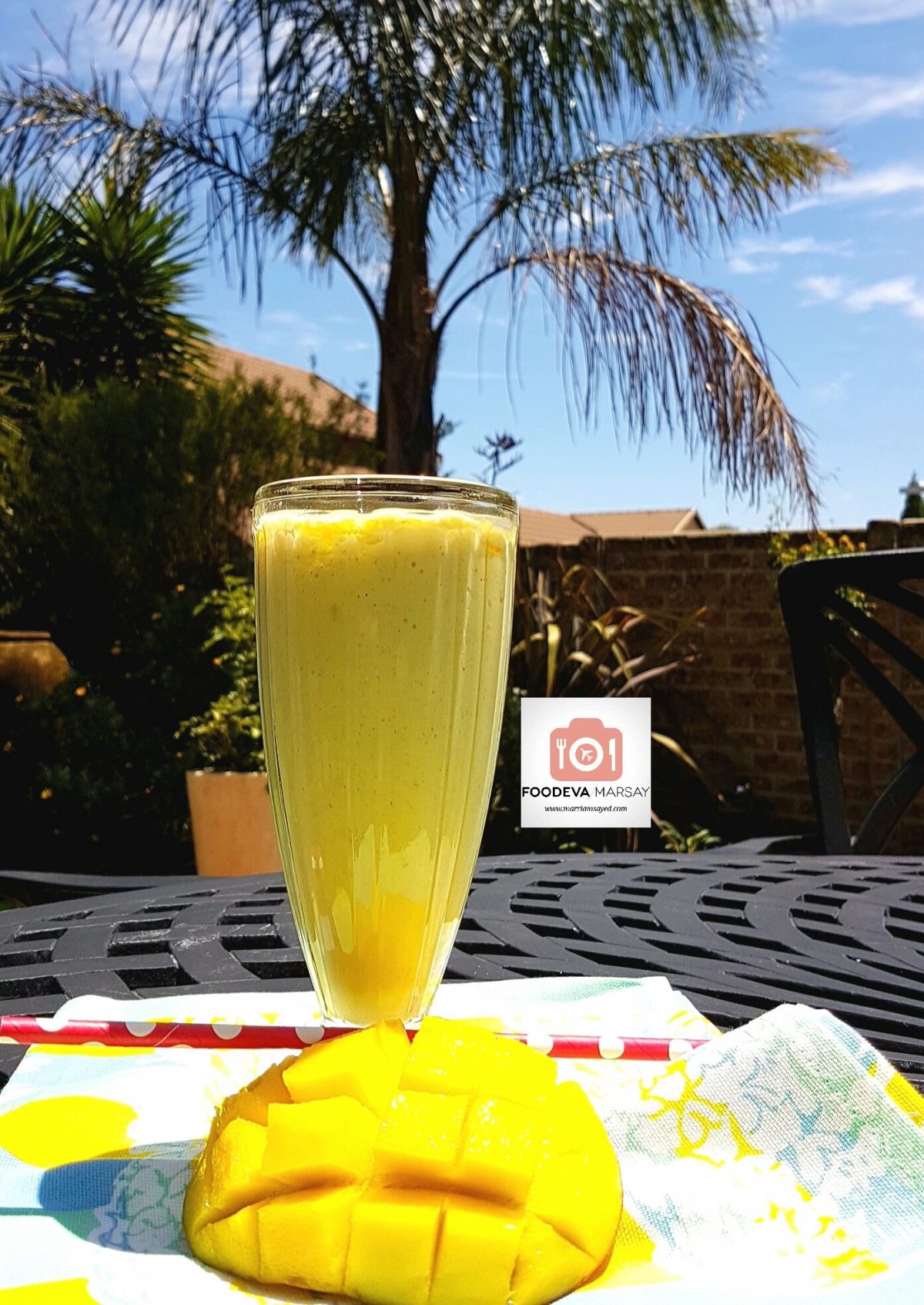Perfect Summer Chiller...Mango Oatmeal Smoothie